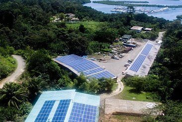 PV Diesel Hybrid Application - Isla Bastimentos, Panama